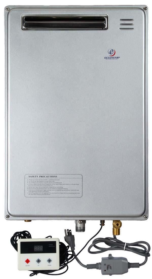 Eccotemp Lpg 40h Gas Outside Tankless Hot Water Heater Ebay